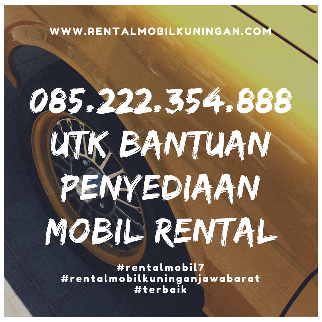 Rental Mobil Kuningan Recommended