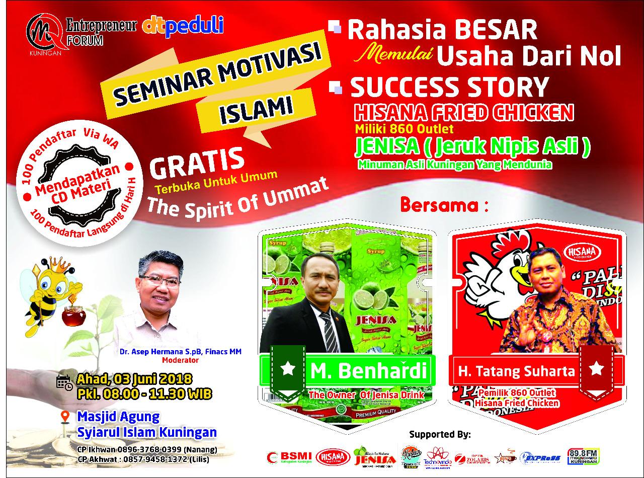 Seminar Motivasi Kuningan Jawa Barat
